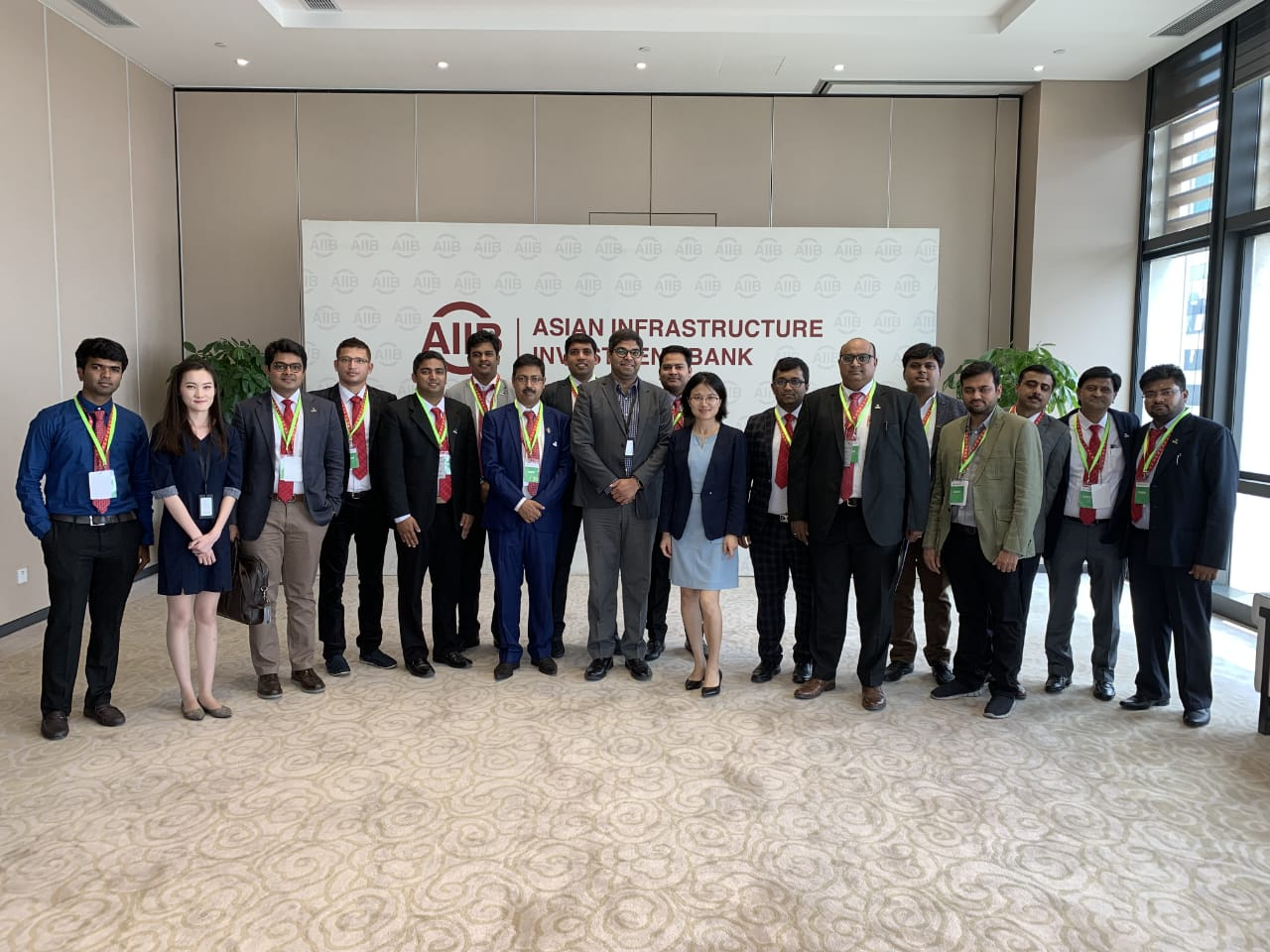 Yi Global Excellence Mission - China :Delegates Meeting with Asian Infrastructure Investment Bank