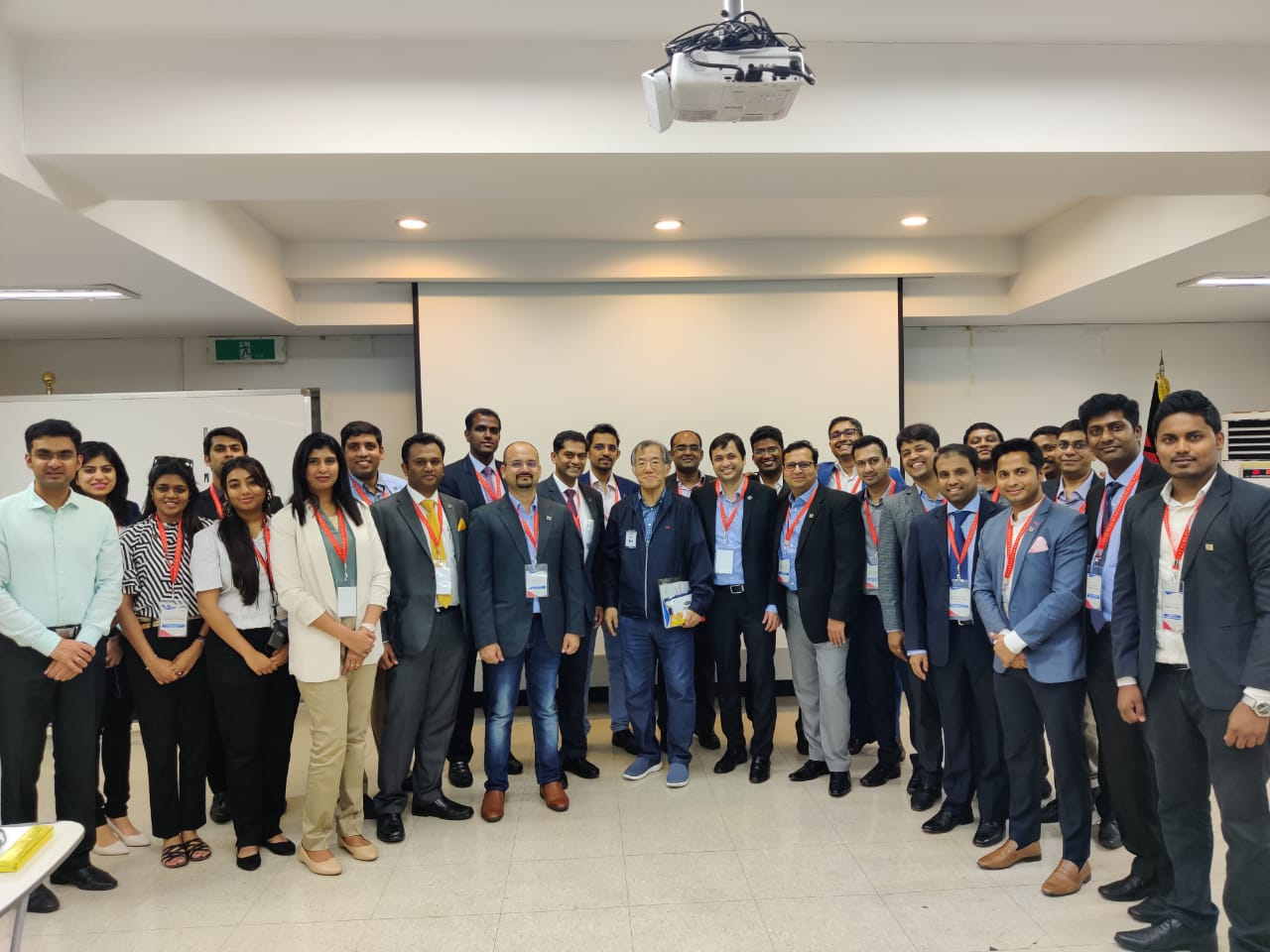 Yi Global Excellence Mission to the Republic of Korea 25-30 August 2019  Visit to YG-1 and Special Interaction with Mr Hokeun Song ,Founder and Chairman ,YG-1