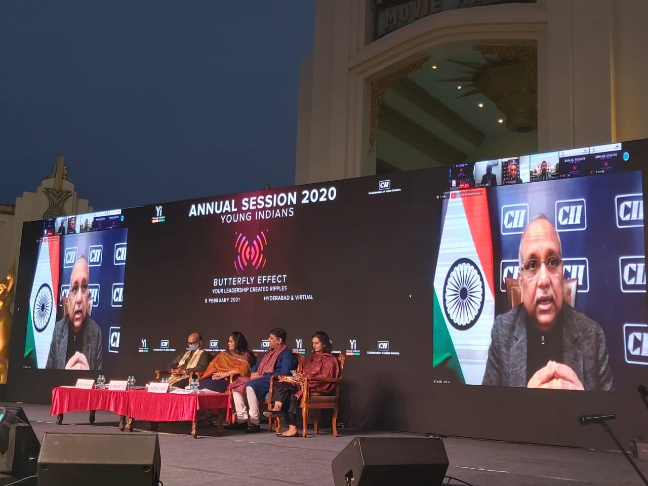 Special  address by  Mr Chandrajit Banerjee, Director General, CII at the Young Indians Annual summit 2021   at Ramoji film city, Hyderabad