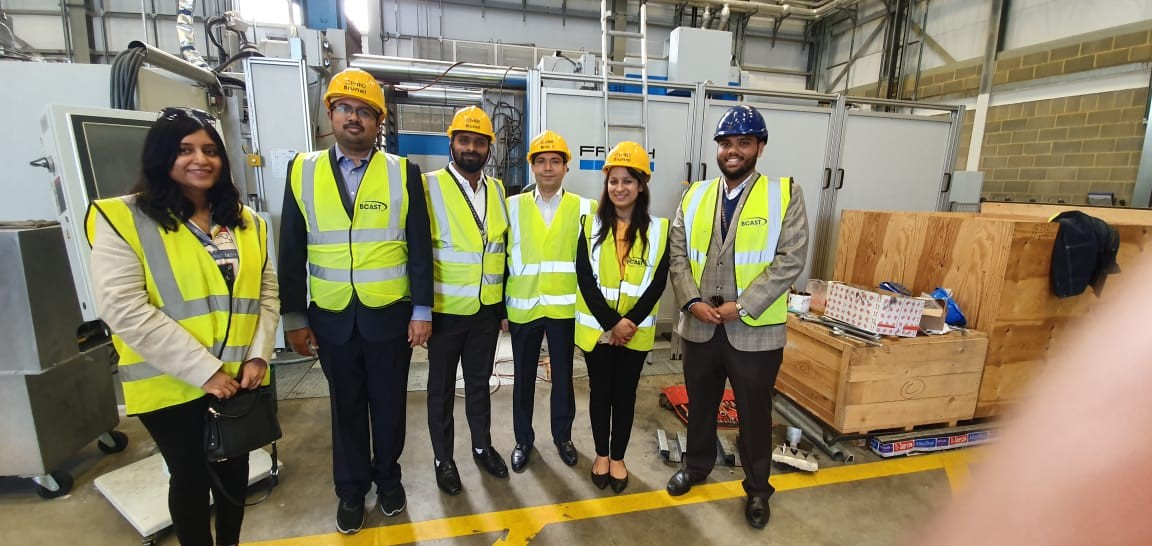 Yi Delegation to UK - Visit to Brunel Centre for Advanced Solidification Technology (BCAST)