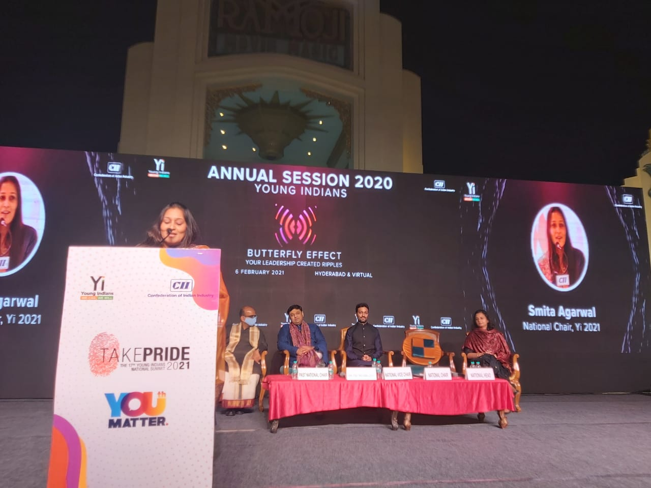 Young Indians Annual summit 2021 at Ramoji film city, Hyderabad