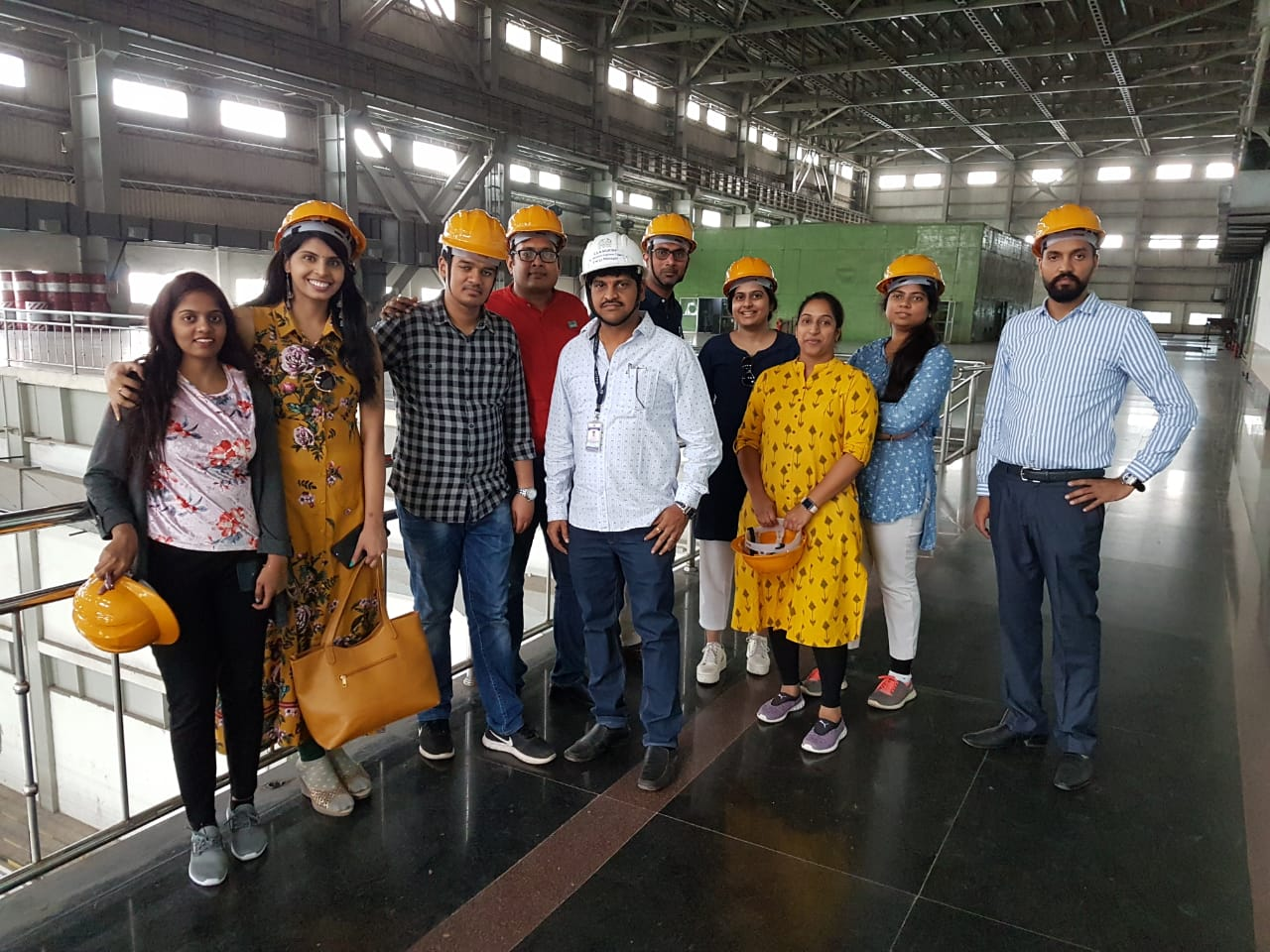 Learning Mission to Narla Tata Thermal Power Station