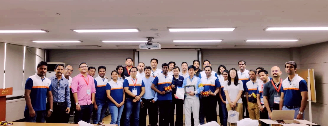 Yi Global Excellence Mission to The Republic of Korea 25-30 August 2019  Visit to Lotte Confectionery