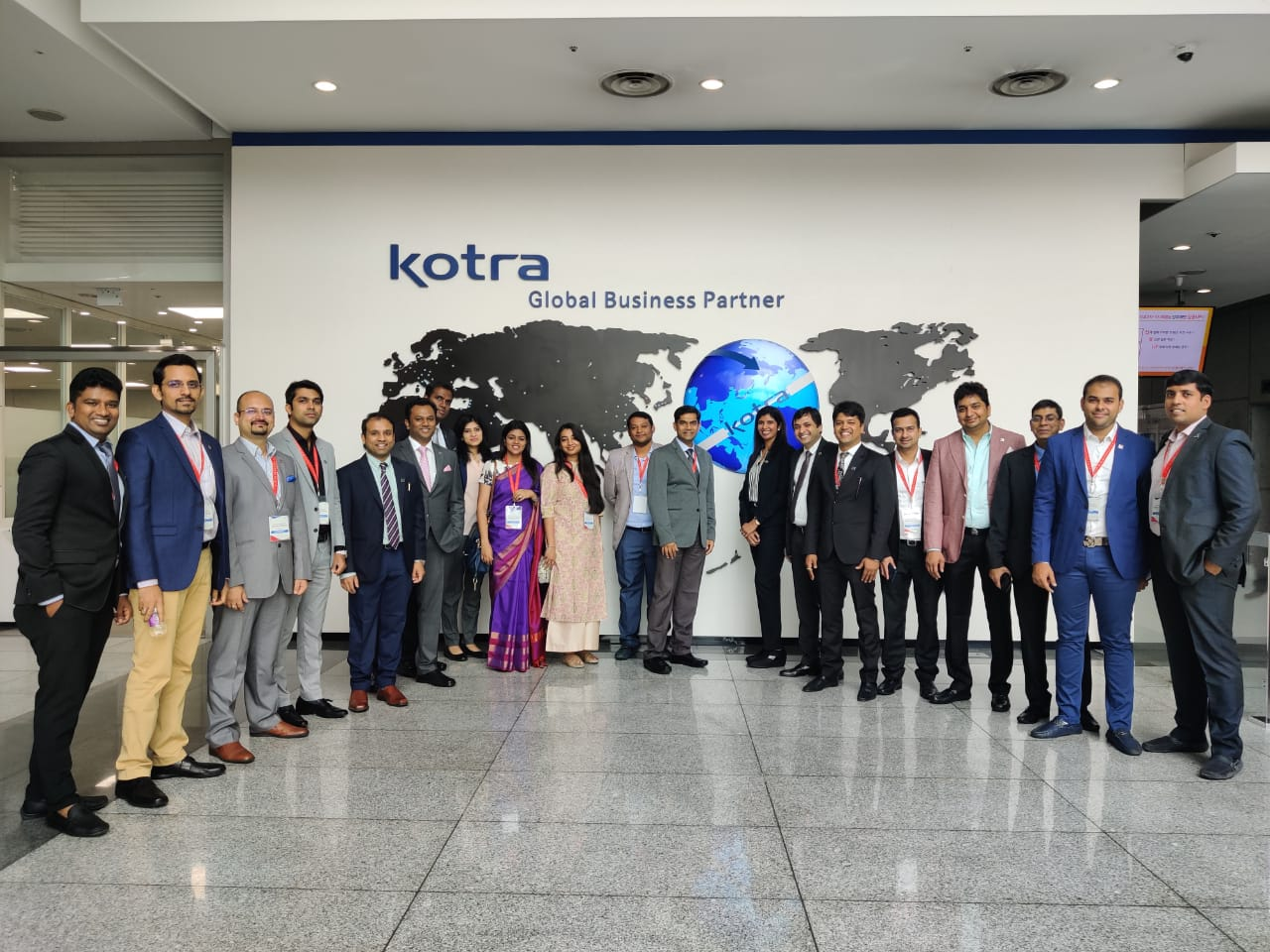 Yi Global Excellence Mission to the Republic of Korea 25-30 August 2019  Visit to KOTRA and Special Interaction with Mr Sang Mook Kim,Vice President KOTRA