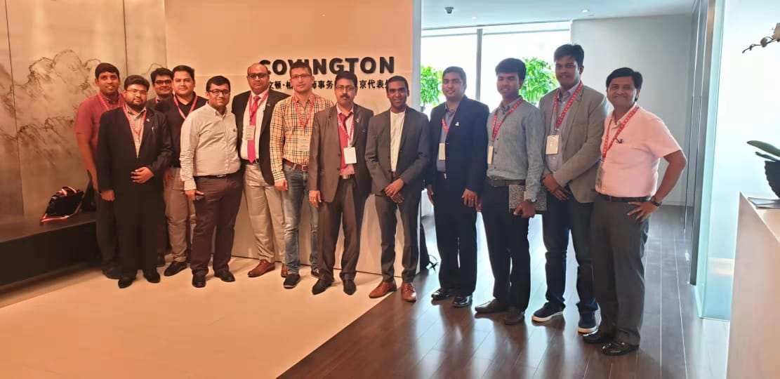 Yi Global Excellence Mission - China  2019 : Delegates Meeting with Covington
