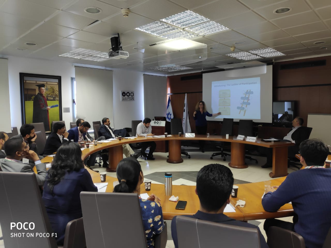 Young Indians Delegation to Israel 2019 - Interactive session with Prof. Gal Oestreicher-Singer, Social media -Information Systems &Big Data,Coller school of Management