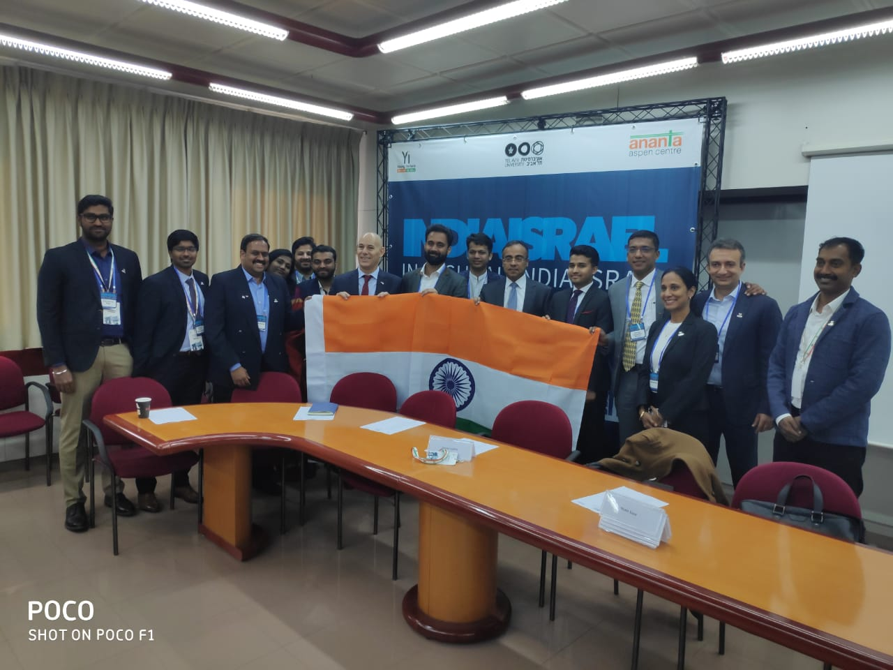 Young Indians Delegation to Israel. Inaugural India Israel Young leaders Forum @TelAviv University#Youngindians#telaviv#AnantaAspencentre #ciievents#India#Israel