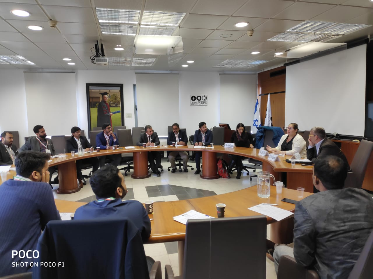 Young Indians Delegation to Israel 2019 -  Session with Ms.Hilly Hirt ,Head Emerging Markets Desk,Israel